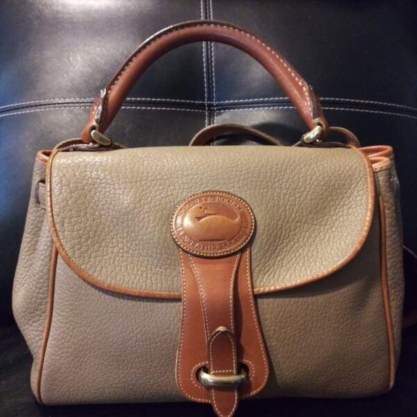 Curvy Girl Closet- Vintage Dooney & Bourke Essex