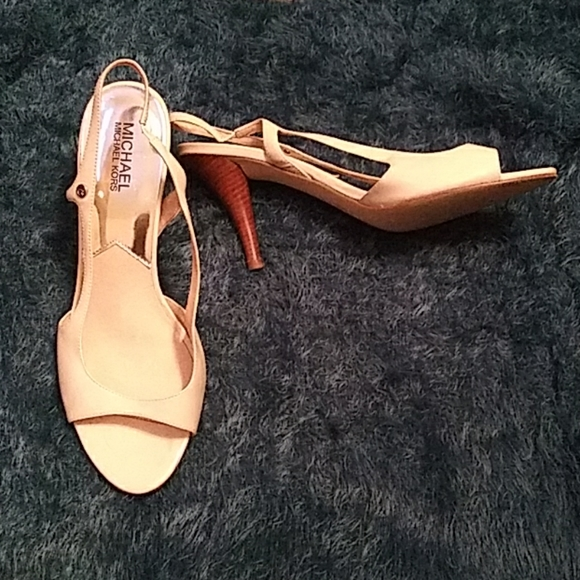 Michael Kors Slingback Pumps | Curvy Girl Closet
