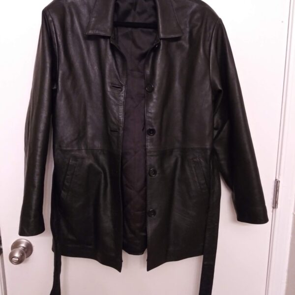 Women's Black Leather Jacket | Curvy Girl Closet