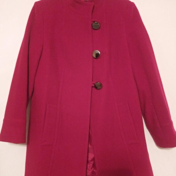 Style & Co Wool Blend Coat- Curvy Girl Closet