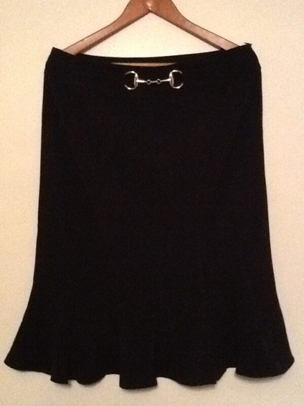 Sunny Leigh Black Skirt | Curvy Girl Closet